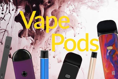 Pure E-liquids vape pods selection